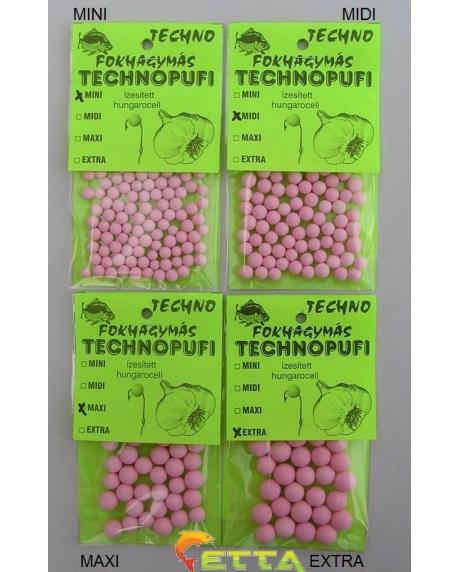 Technopufi Usturoi (roz) midi