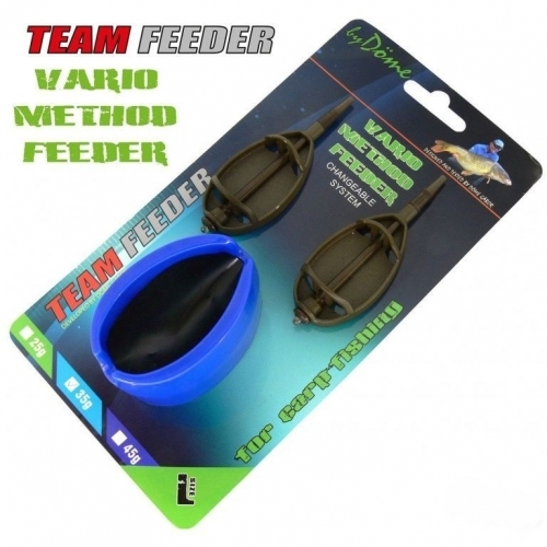 Set Momitor Team Feeder Vario - XL 55 g