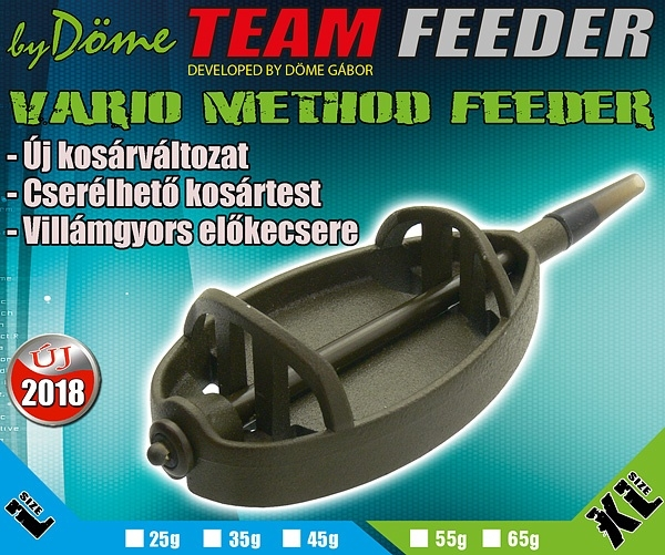 Momitor Team Feeder Vario - XL 65 g