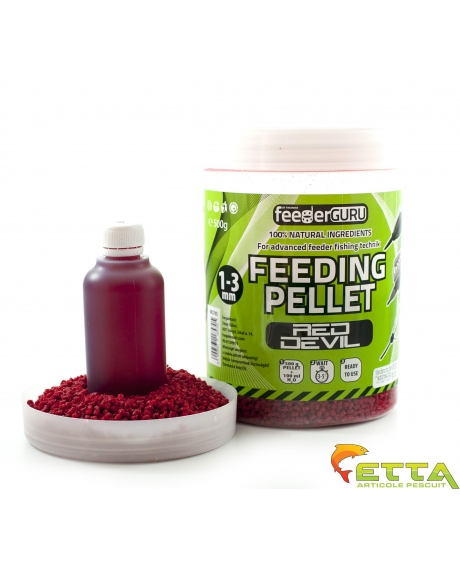 Feeding Pellet Red Devil 500g