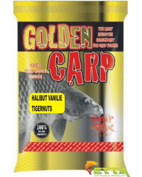 Golden Carp Halibut Vanilie Tigernut 1Kg