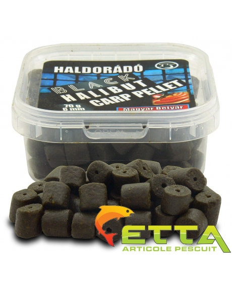 Black Halibut Carp Pellet Haiduc Unguresc 70g