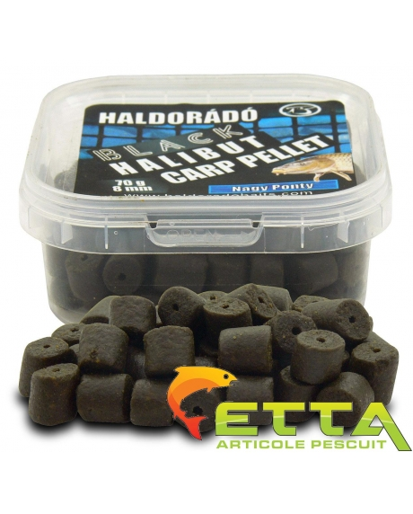 Black Halibut Carp Pellet Crap Mare 70g