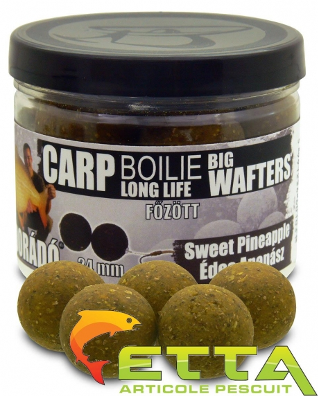 Carp Boilie Big Wafters Sweet Pineapple 70g/24mm 0