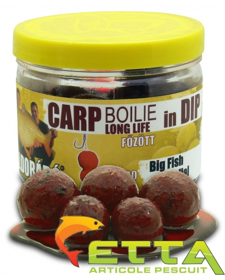 Carp Boilie In Dip Big Fish 100g/16-20mm