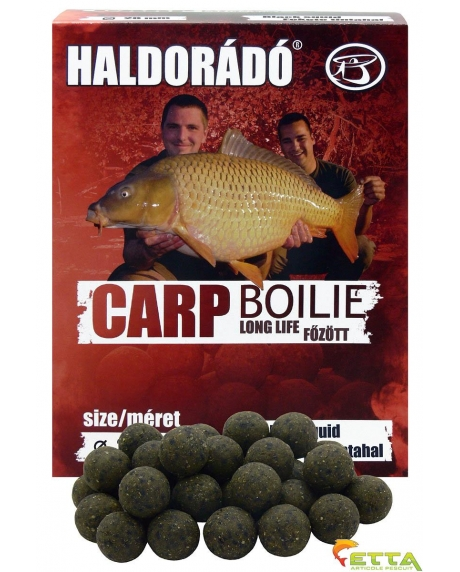 Carp Boilie Long Life Black Squid 800g/20mm 0