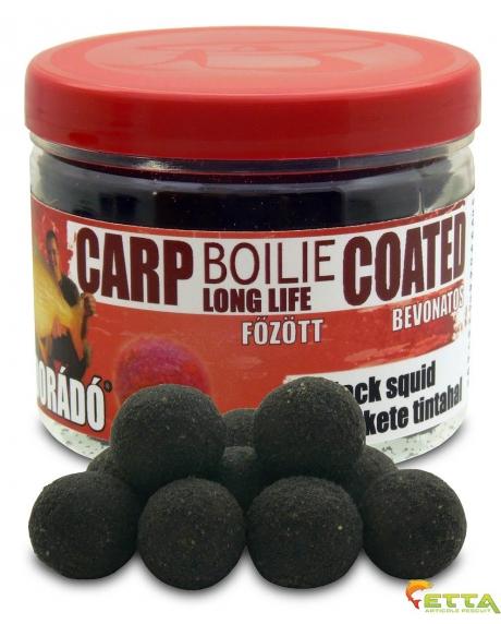 Carp Boilie Long Life Coated Black Squid 70g/18mm
