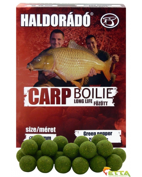 Carp Boilie  Long Life Green Pepper 800g/20mm