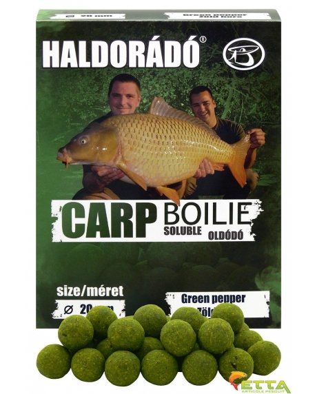 Carp Boilie Soluble Green Pepper 800g/20mm