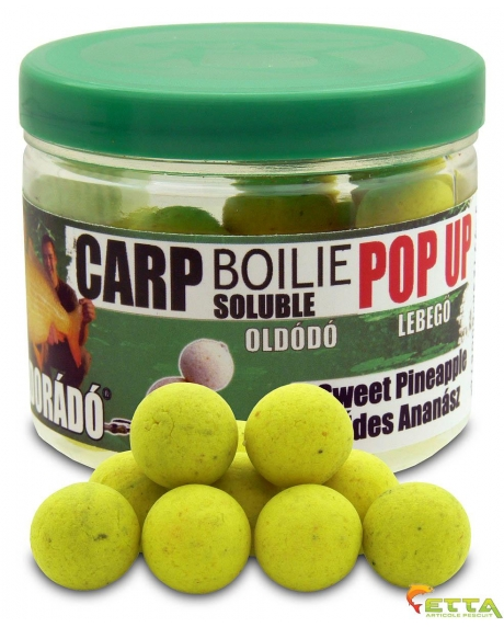Carp Boilie Soluble Pop Up Sweet Pineapple 40g/16mm