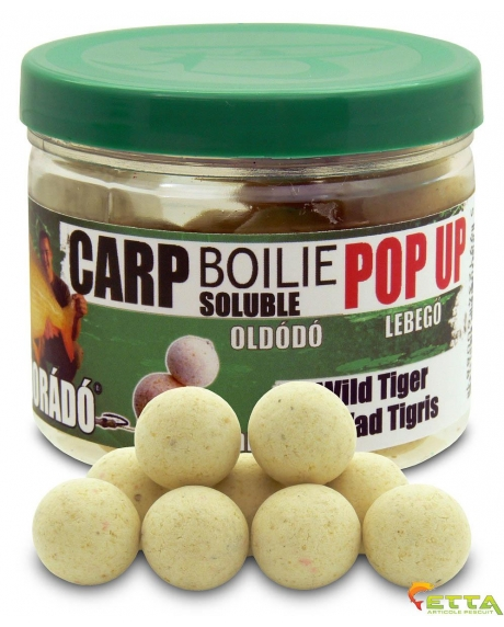 Carp Boilie Soluble Pop Up Wild Tiger 40g/16mm 0