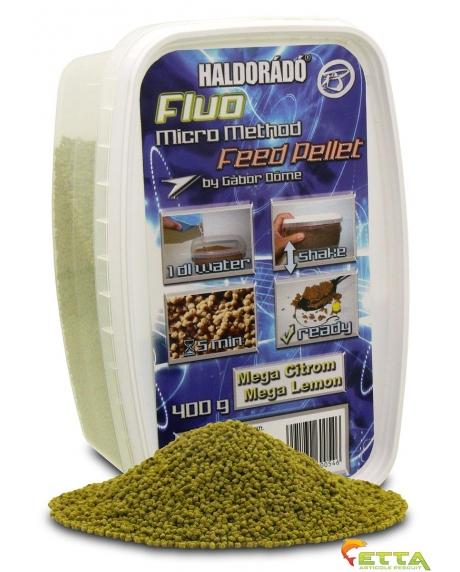 Fluo Micro Method Feed Pellet Mega Lemon 400g