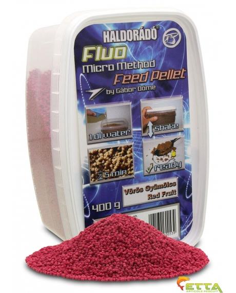 Fluo Micro Method Feed Pellet Red Fruit 400g