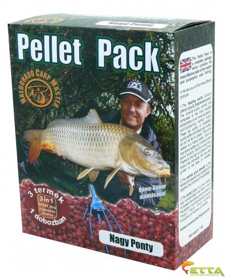 Pellet Pack Crap Mare 1Kg