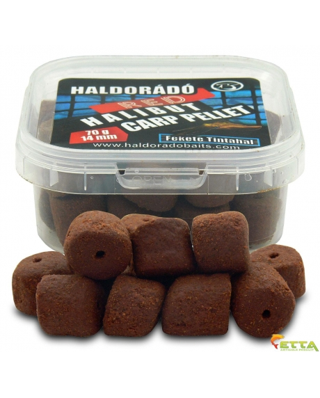 Red Halibut Carp Pellet Black Squid 70g
