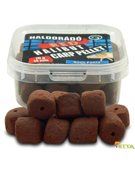 Red Halibut Carp Pellet Crap Mare 70g