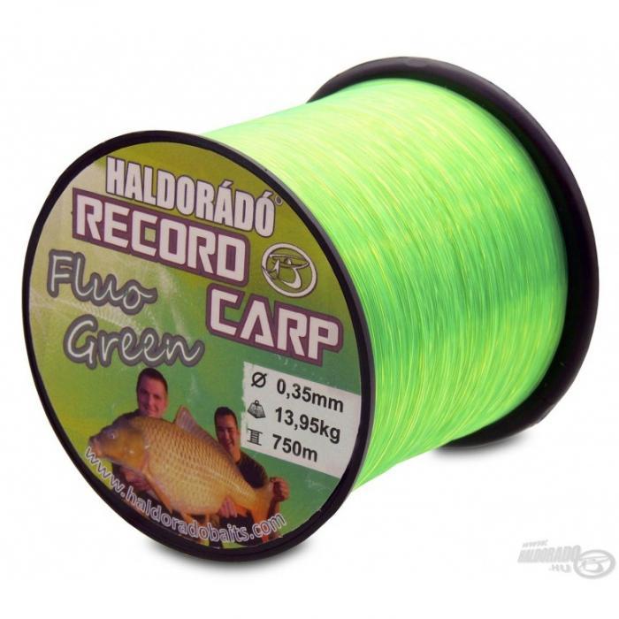 Record Carp Fluo Green 0,30mm/800m - 10,85kg