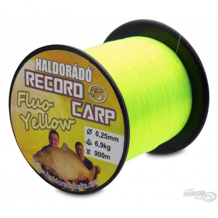 Record Carp Fluo Yellow 0,25mm/900m - 6,9kg 0