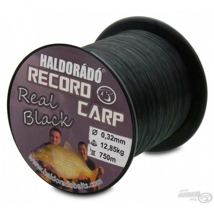 Record Carp Real Black 0,27mm/800m - 9,75kg