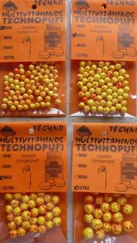 Technopufi Vitamine (galben+rosu) - extra